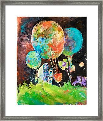 Night Soaring Framed Print