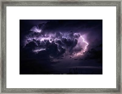 Night Storm Framed Print