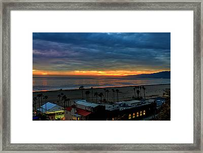 Night Tennis Anyone Framed Print