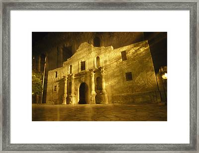 Night Time-exposed Zoom Gives Haunting Framed Print by Stephen St. John