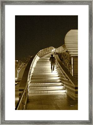 Night Time Stairway Framed Print