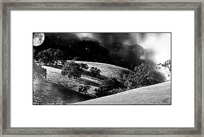 Night Treatment Framed Print by Monroe Snook