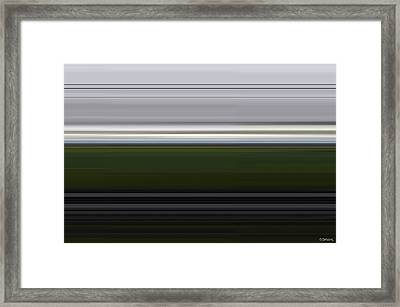 Night Trip Framed Print