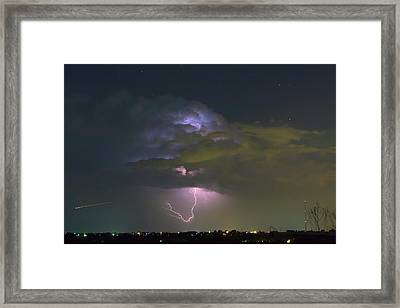 Framed Print featuring the photograph Night Tripper by James BO Insogna