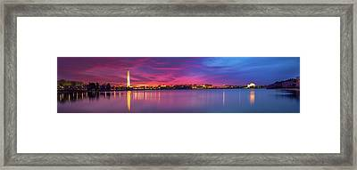 Framed Print featuring the photograph Night Unto Day by Edward Kreis