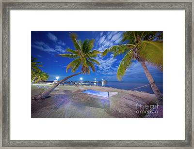 Night Vibes Framed Print by Marco Crupi