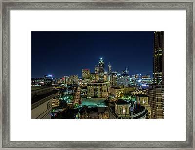 Night View 2 Framed Print