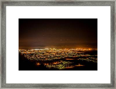 Night View Framed Print