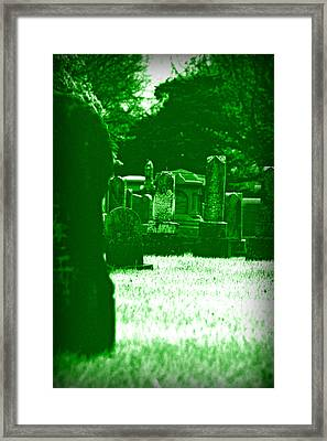 Night Vision Framed Print by Carl Perry