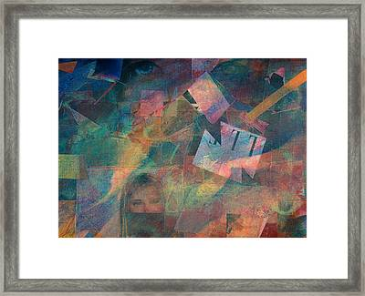 Night Vision Framed Print by Jerry Hanks