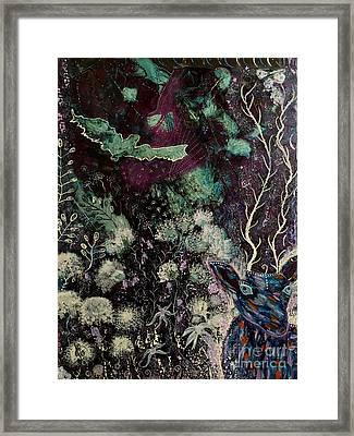 Night Vision Framed Print by Julie Engelhardt