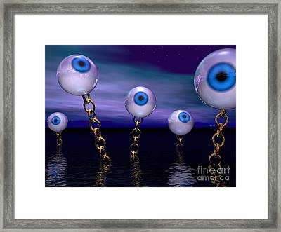 Night Vision Framed Print by Phil Perkins