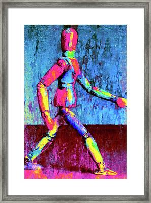 Night Walk 1 Framed Print