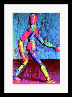 Physical Body Framed Prints