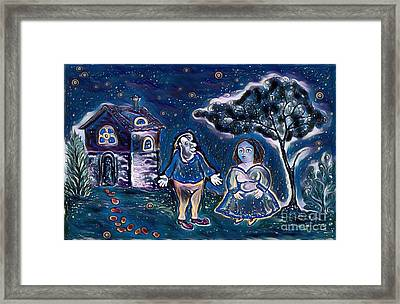 Night Walk Framed Print