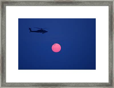 Night Watch 2 Framed Print by Don Prioleau