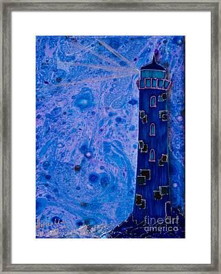 Night Watcher Framed Print by Aqualia