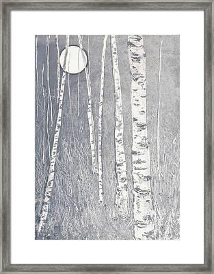 Night Watchmen Framed Print by Lisa Le Quelenec