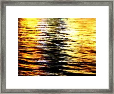 Night Wave Framed Print