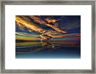 Nightcliff Pop Framed Print