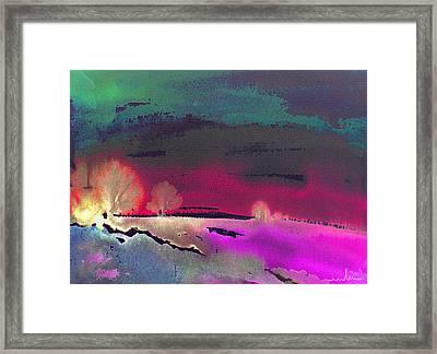 Nightfall 08 Framed Print by Miki De Goodaboom