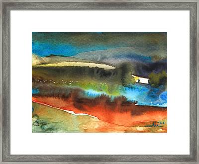 Nightfall 13 Framed Print by Miki De Goodaboom