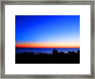 Nightfall Framed Print by Andreas Thust