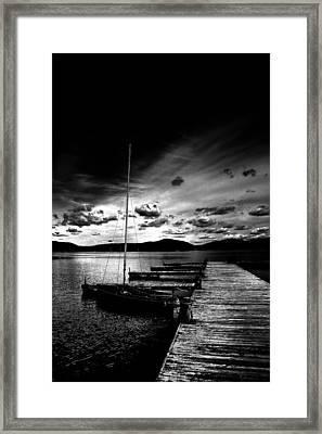 Nightfall Framed Print