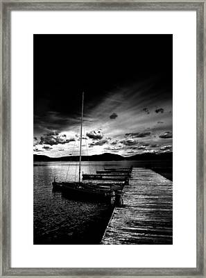 Nightfall Framed Print by David Patterson