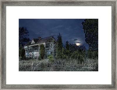Nightfall Framed Print by Sari Sauls
