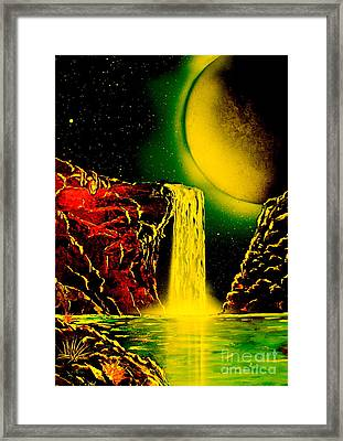 Nightfalls 4679 Framed Print