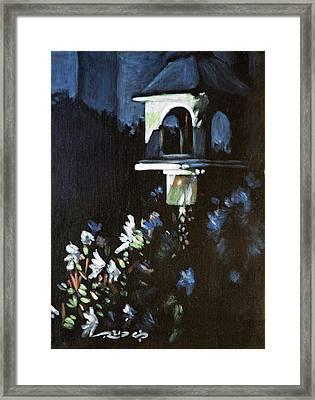 Nightfeeder Framed Print