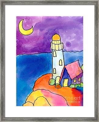 Nighthouse Framed Print