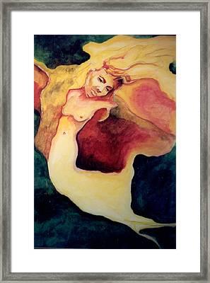 Nightingale Framed Print by Erika Brown