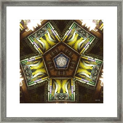 Nightlife 1724k5 Framed Print by Brian Gryphon