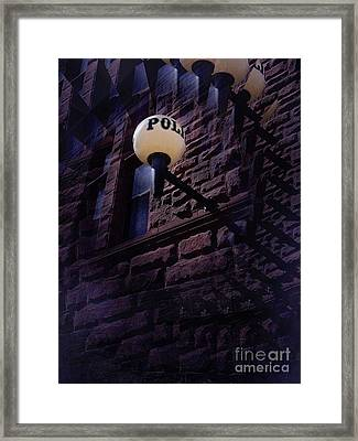 Nightly Incarcerations Framed Print by The Stone Age