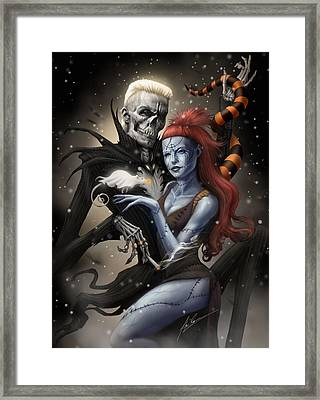 Nightmare Before Antwoord Framed Print by Alex Ruiz