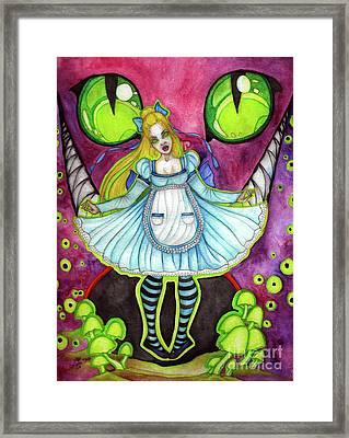 Nightmare Framed Print by Coriander Shea