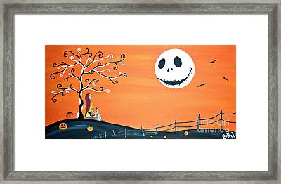 Nightmare Love II  Framed Print by JoNeL Art