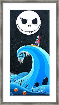 Nightmare Love Framed Print by JoNeL Art