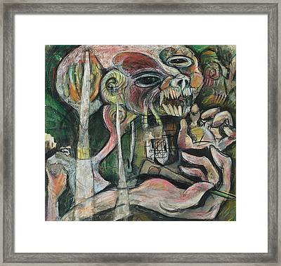 Nightmare Framed Print
