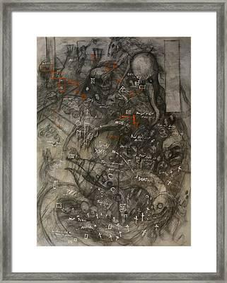 Nightmare Framed Print by Ralph Nixon Jr
