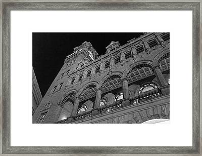 Nights At Main Street Station Framed Print