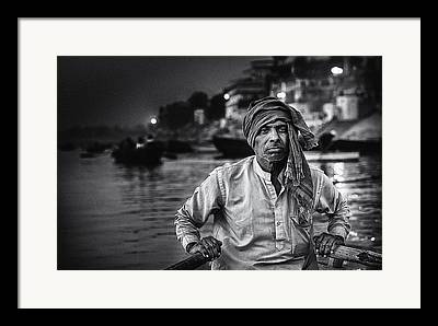 Ganges Framed Prints