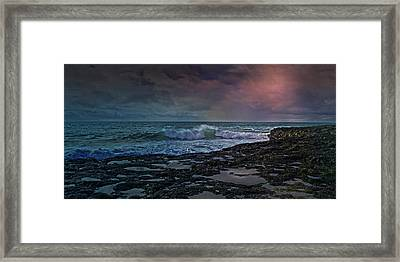 Nightscape Framed Print by Betsy Knapp
