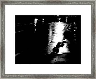 Nightshot 2 Framed Print