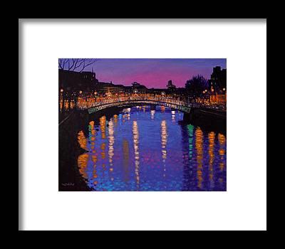River Liffey Framed Prints