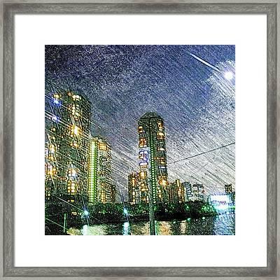 Tokyo River Framed Print by Daisuke Kondo