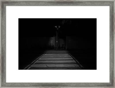 Nightwalk Framed Print