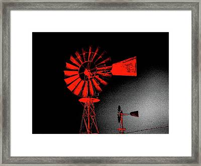 Nightwatch Framed Print